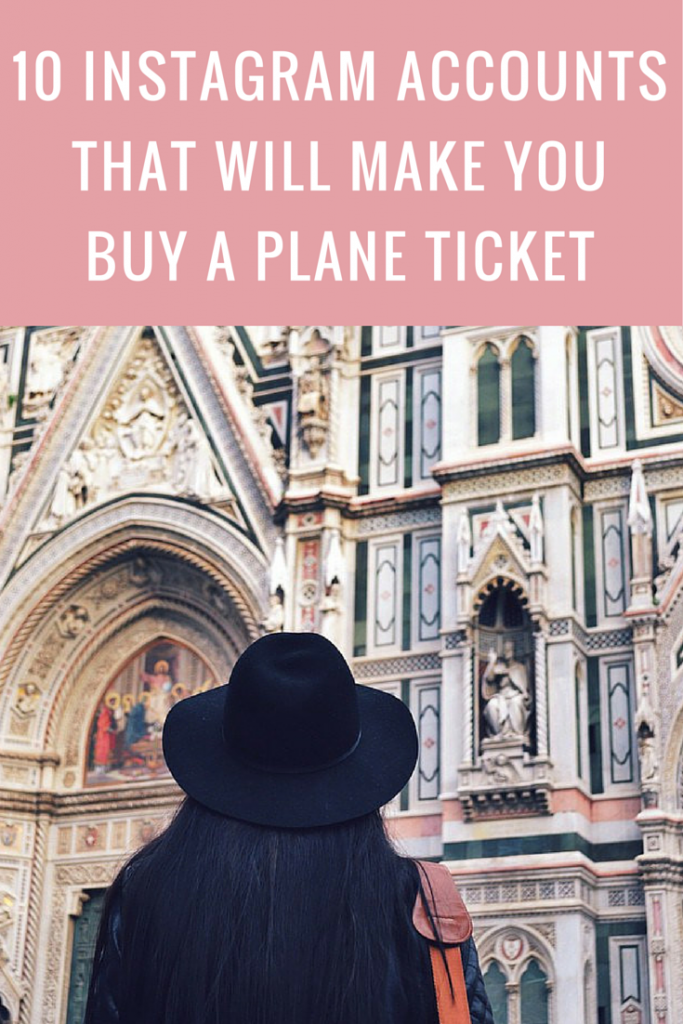 10 Instagram accounts to follow for travel inspiration, 10 travel fashion instagrammers