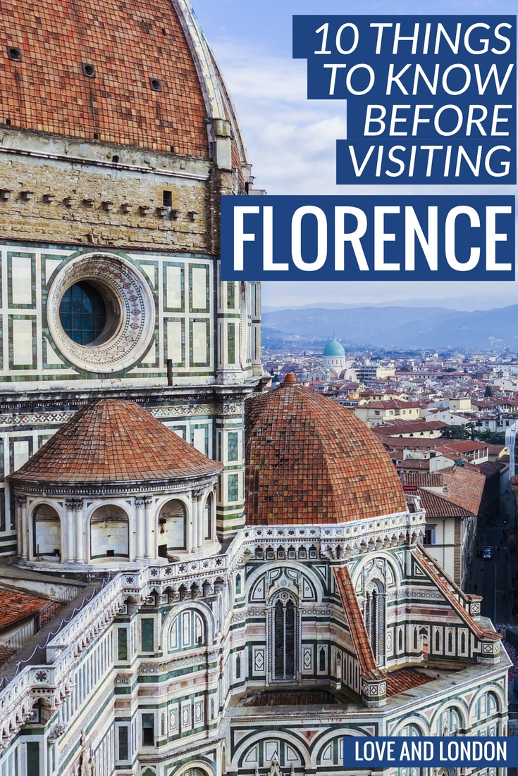 10 Things to Know Before Visiting Florence. This guide tells you top tips for your visit to Florence, including how to get from the airport to Florence, what types of Florence specialties to eat, and more.