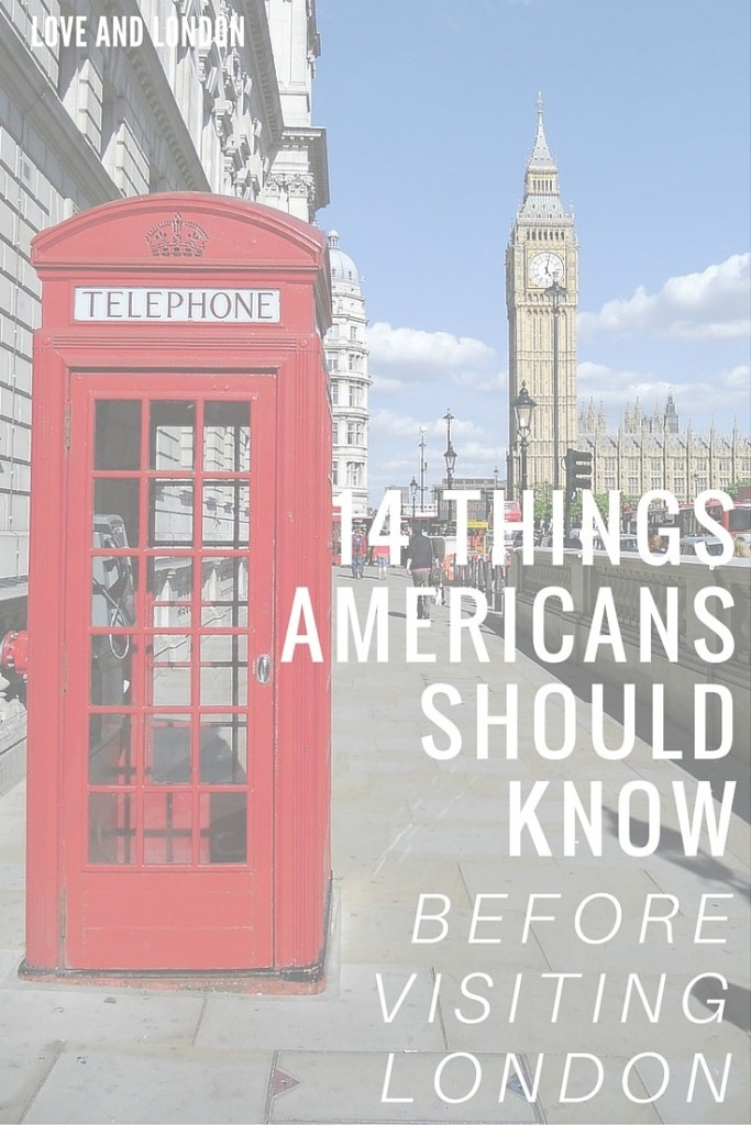 14 Things Americans Should Know Before Visiting London - important things to know before your first visit to London. Do you know what you're supposed to do with your fork and knife when you're done eating at a London restaurant? Click through to find out.
