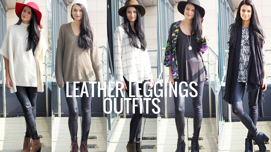 6 Ways to Style Faux Leather Leggings