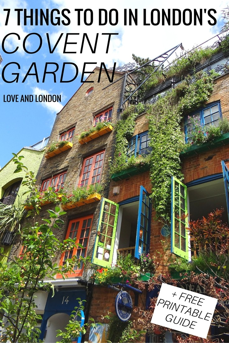 7 Things to Do in London's Covent Garden - a guide to what to do, see and eat in London's Covent Garden area. Click through for the guide to Covent Garden!