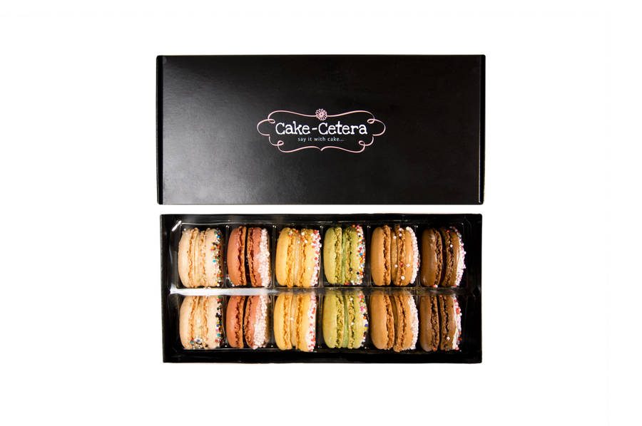 These cute macarons are some of the best gift ideas for travel lovers on Not On The High Street