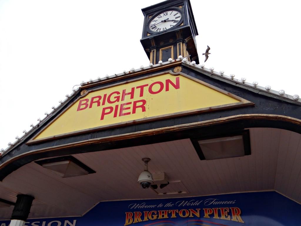 Bright Pier Sign