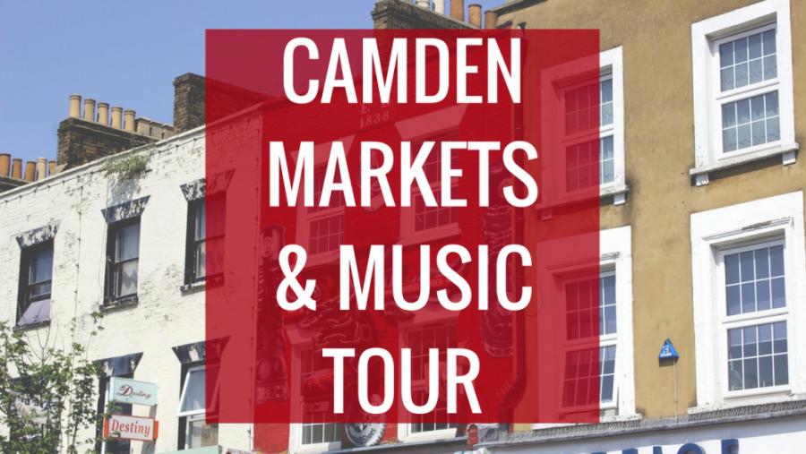 Camden Markets and Music Legends Tour