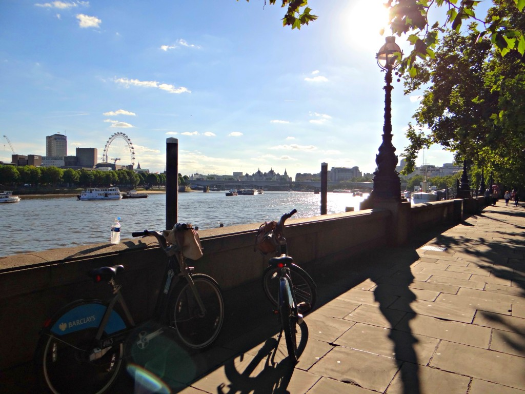 City bikes london eye