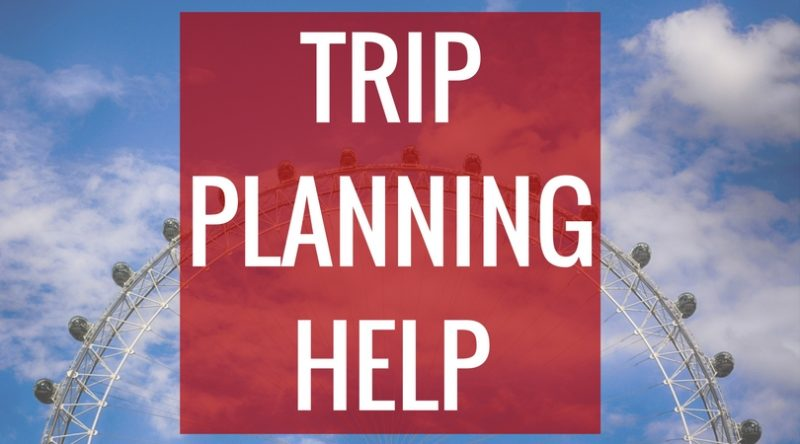 London trip planning consultations