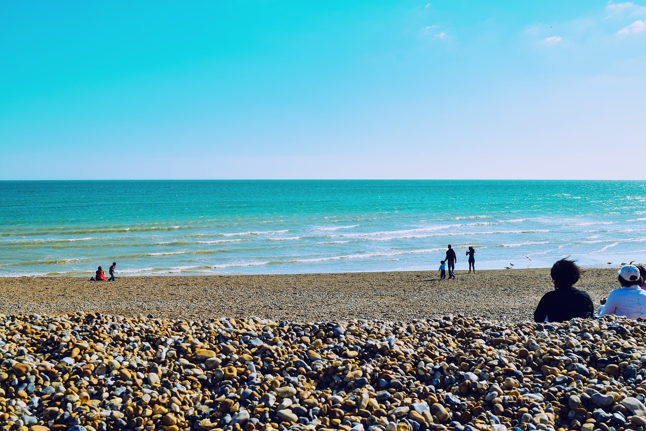 Day trips to the beach from London. When you're visiting London and you've got some nice weather, head to the seaside and visit Brighton, just an hour away from London by train.