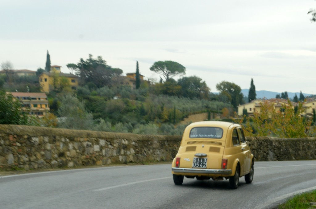 Driving Vintage Fiat 500s in Tuscany, fiat 500 tour italy
