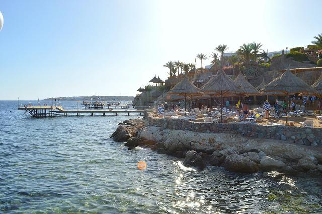 Egypt coastline