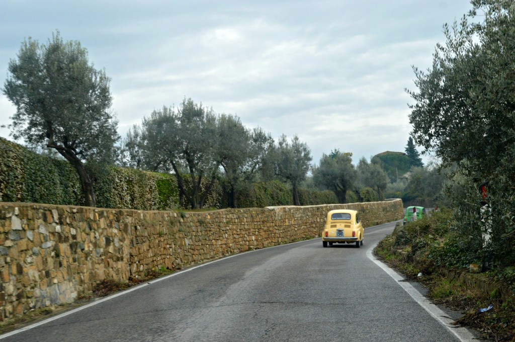 Fiat 500 Tour in Tuscany, florence tour fiats