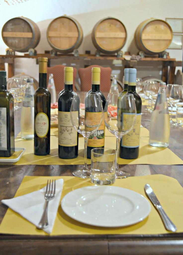 Fiat tour wine tasting