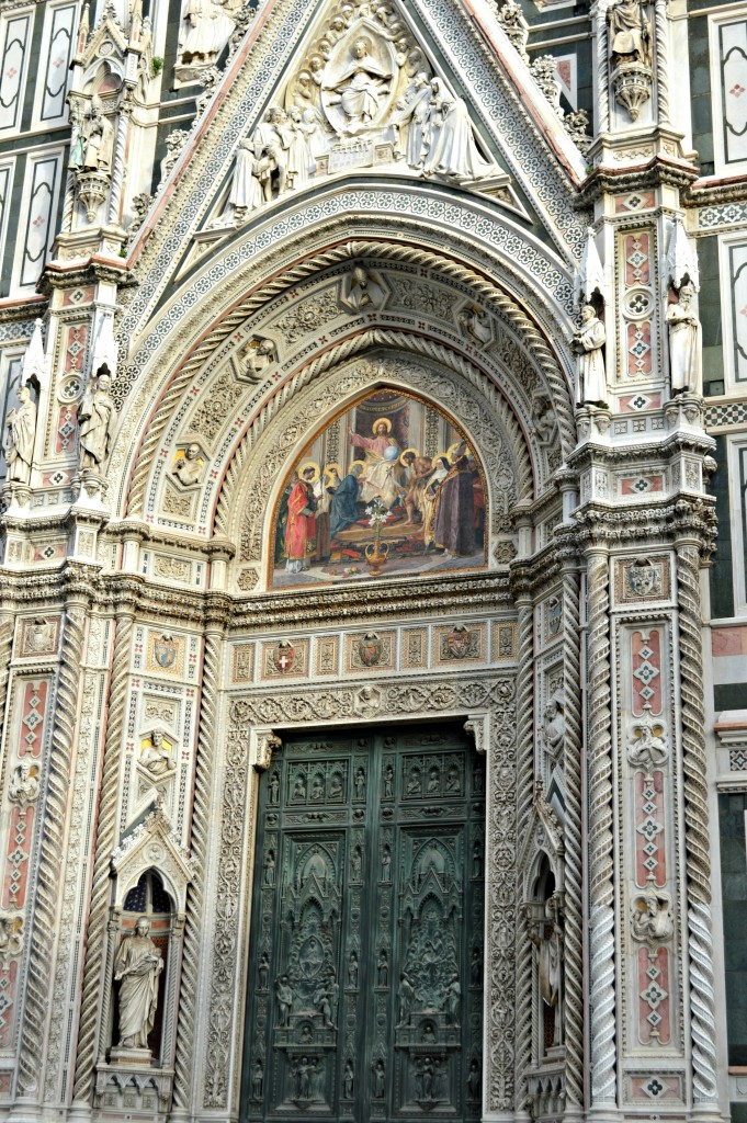 Florence cathedral door