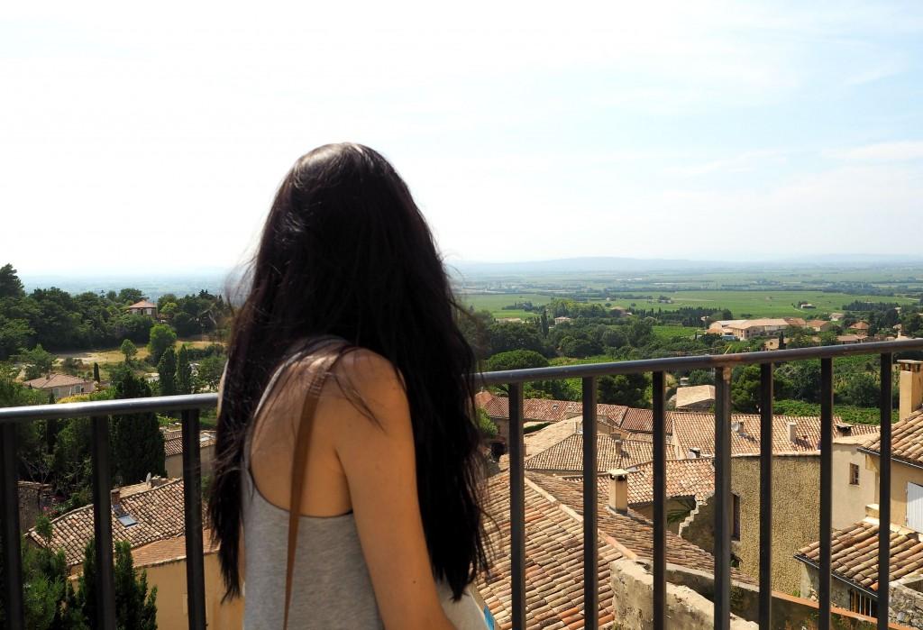 Gigondas views