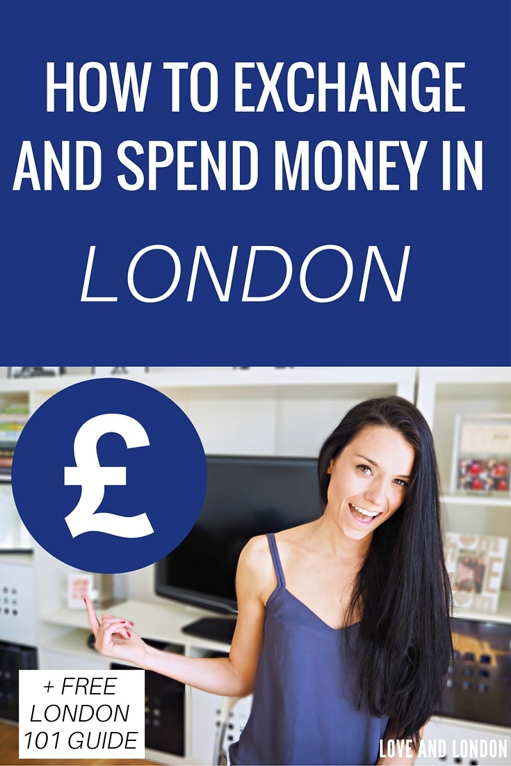 How to Exchange (and spend) Money While in London -- first time visitors, this will tell you how to exchange your foreign currency for British Pounds before you get to London, and also how to get pounds in cash once you've arrived. Click through to watch-- includes a free London 101 Guide!