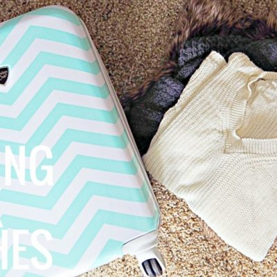 How to Pack Thick Clothing in Your Suitcase