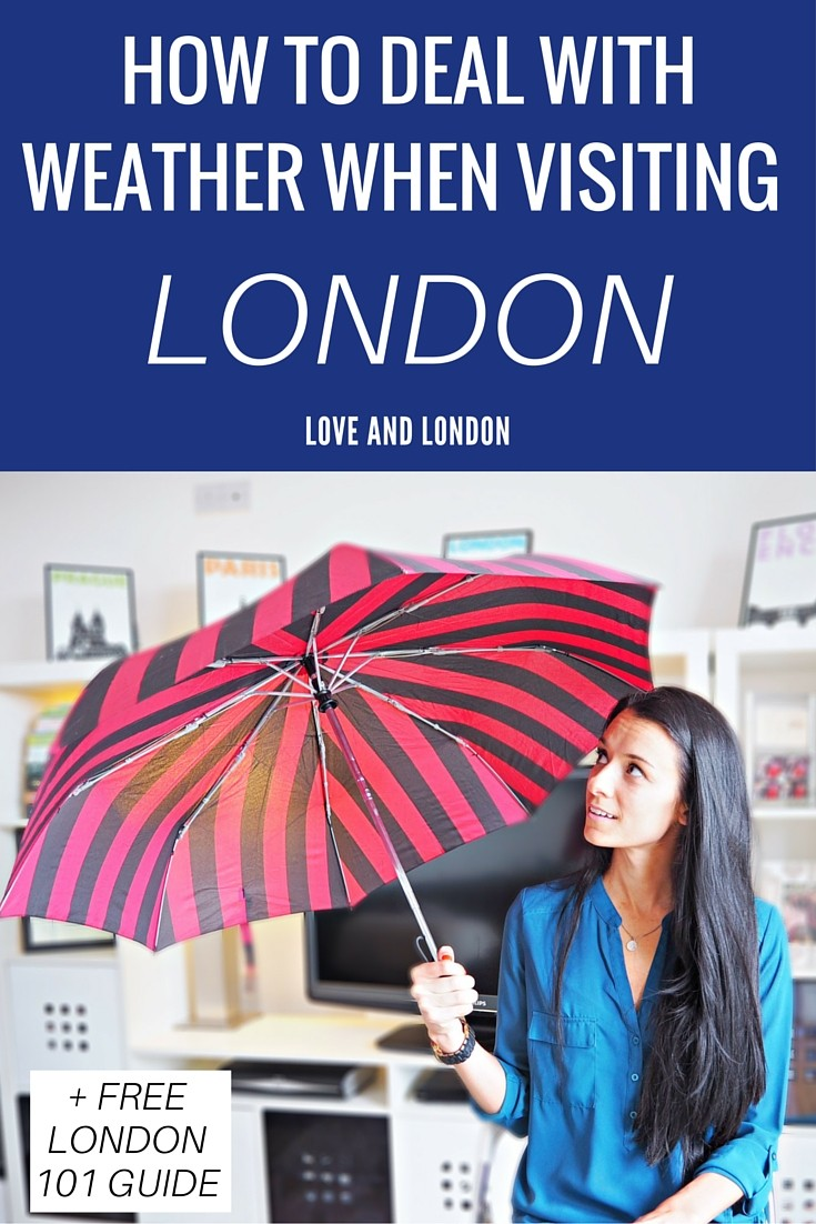 """What's the weather going to be like when I visit London?"" I get this question all the time so I've answered it for you. Find out what kind of weather to expect while visiting London so you can prepare for your trip and pack accordingly."