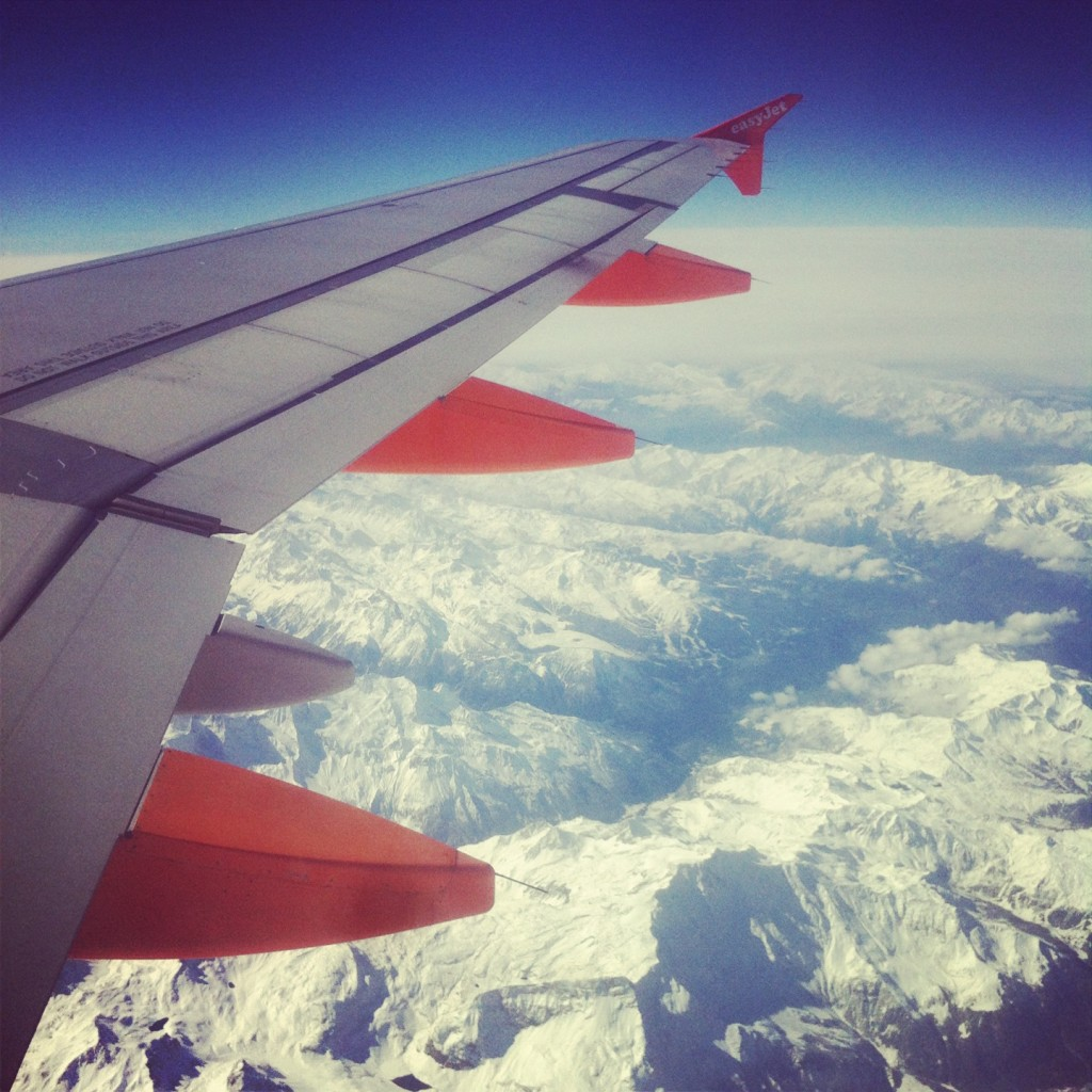 flying to italy