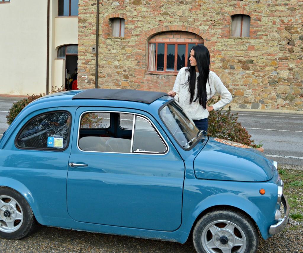 Jess Vintage Fiat 500 tour