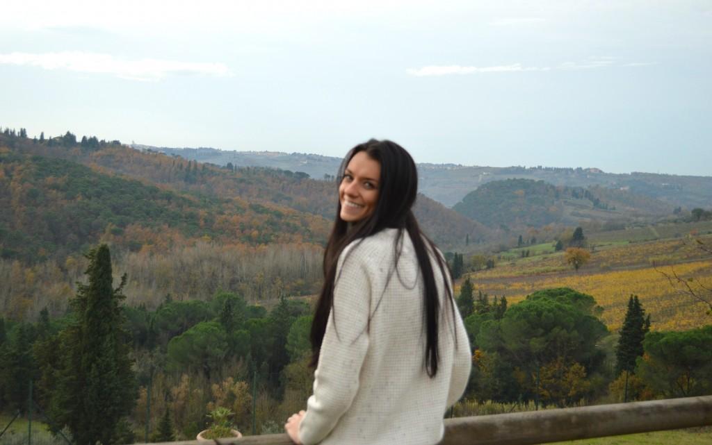 Jess in Tuscany, tour around tuscany in Fiat 500s