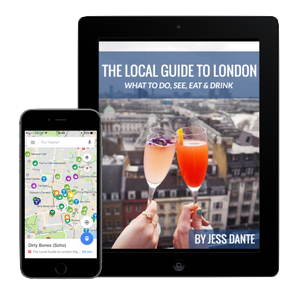 Smart gift ideas for people visiting London. London guide as a gift.