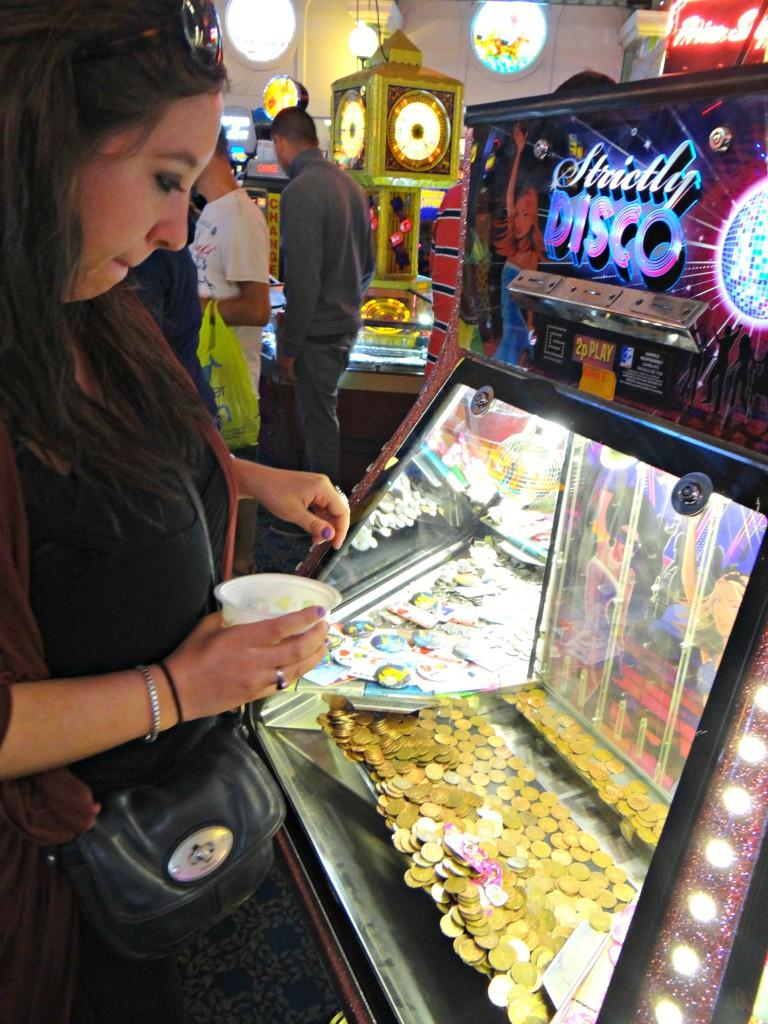 Playing games Brighton