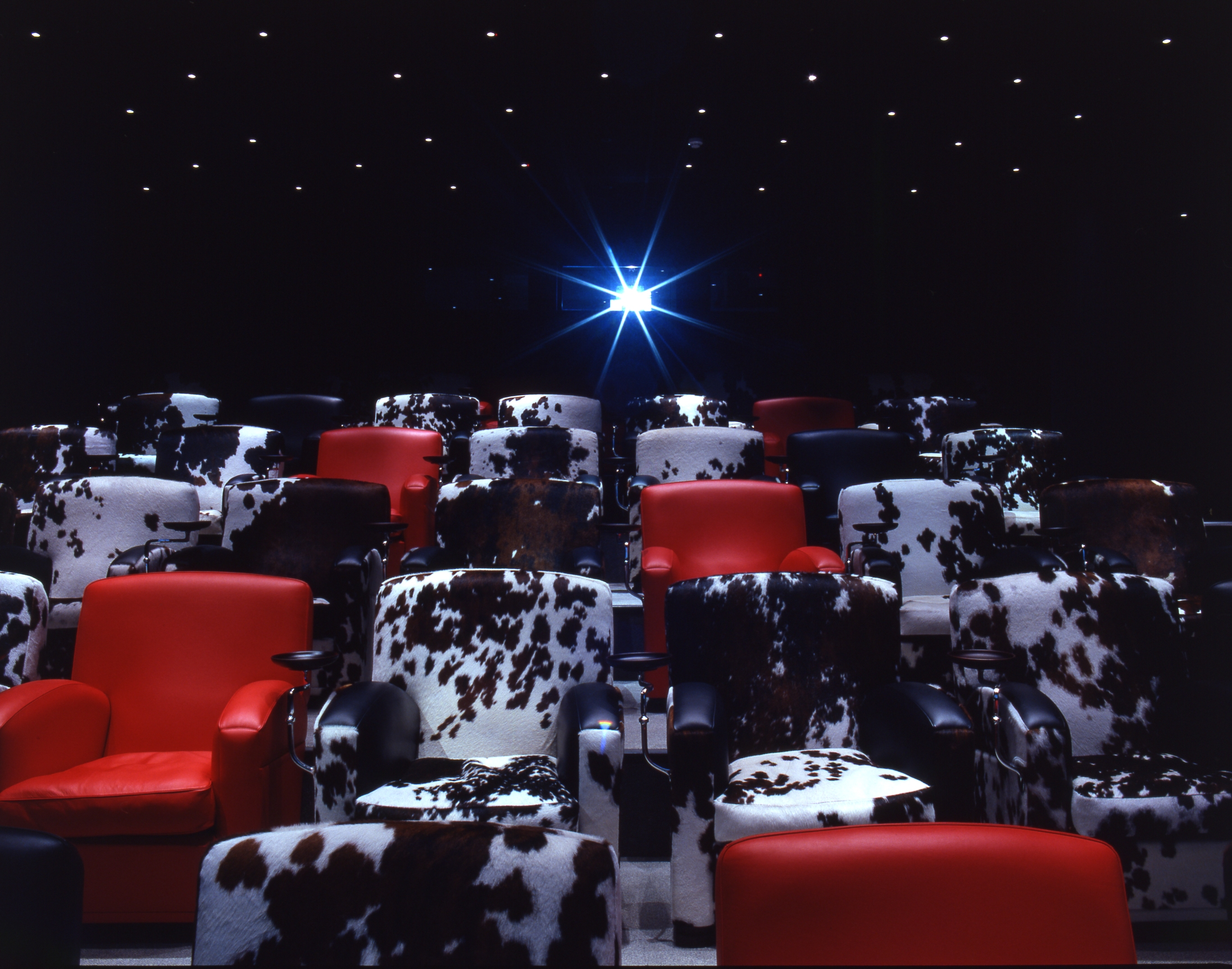 Romantic things to do while in London, for Valentine's Day and special occasions. Soho Hotel Film Club for £40 per person
