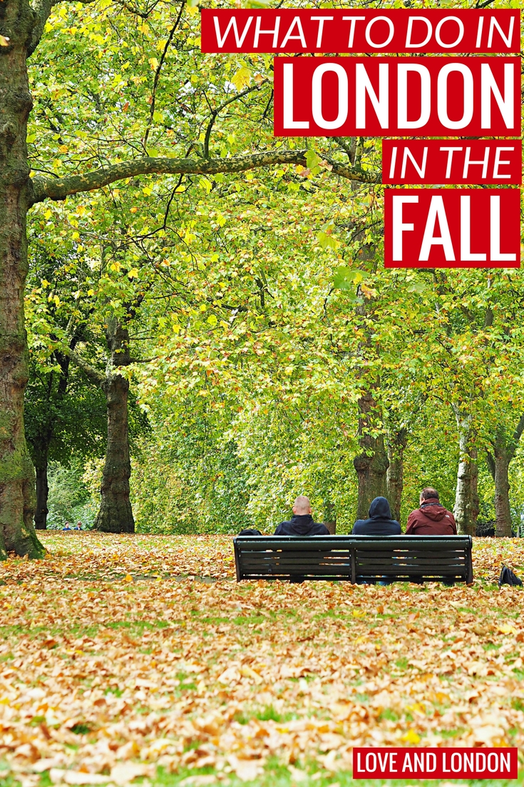Cool Things to do in London in the fall season. If you're visiting London during the fall, these are some lovely fall things to do and experience while you're in London.