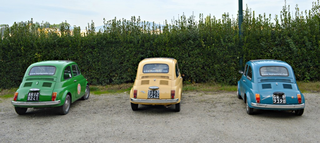 Three Vintage Fiats Italy