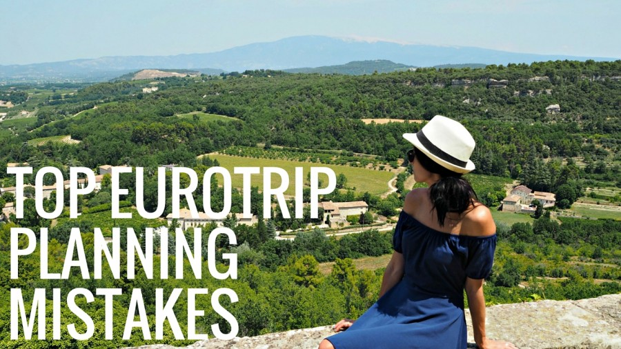 Top mistakes people make when planning a Europe Trip