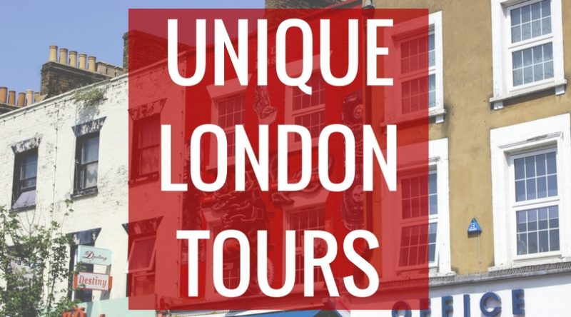 Unique London tours