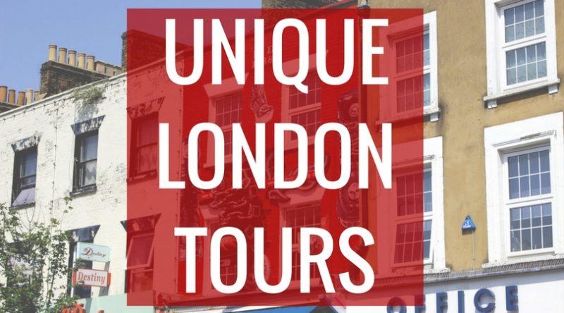 Unique London tours