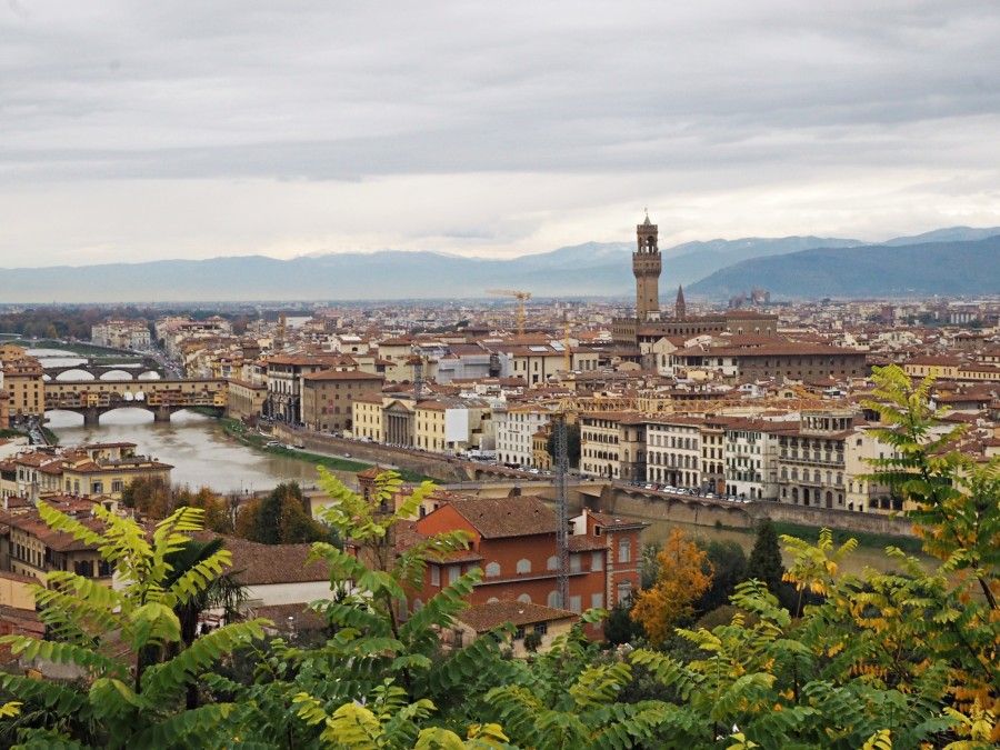 View from Piazzale Michaelangelo in Florence-- definitely a spot to visit while you're in Florence. From the stylish travel site Love and London