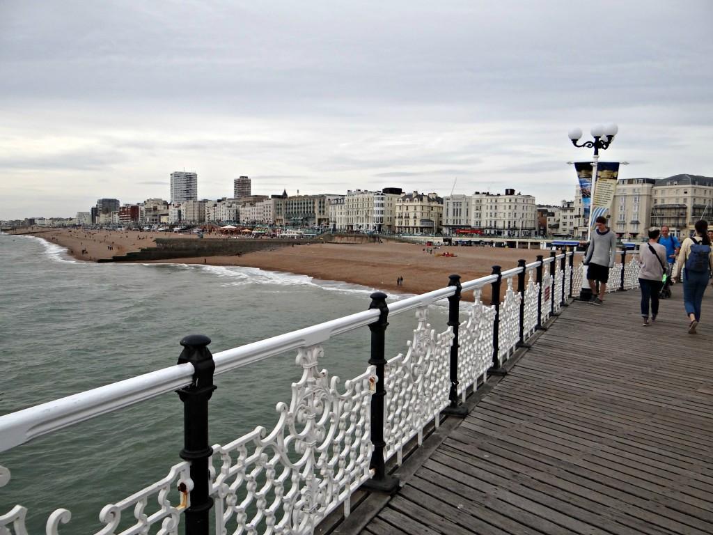 View off the pier Brighton