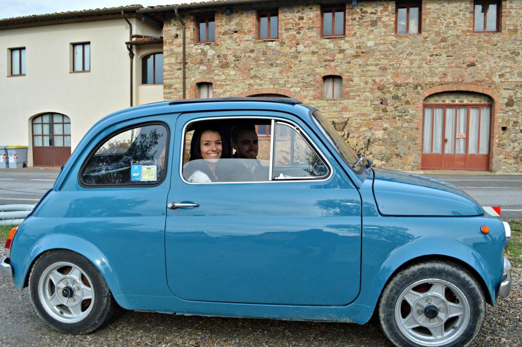 Vintage Fiat 500 Tour Love and London