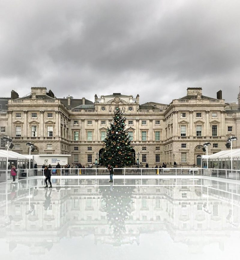 What to do in London in the winter - ice skating
