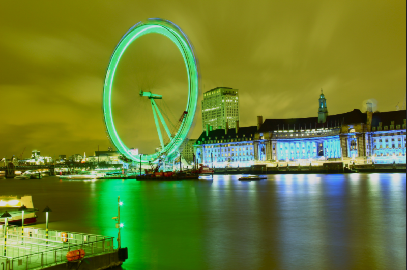 What to do in london in March -- St. Patricks Day