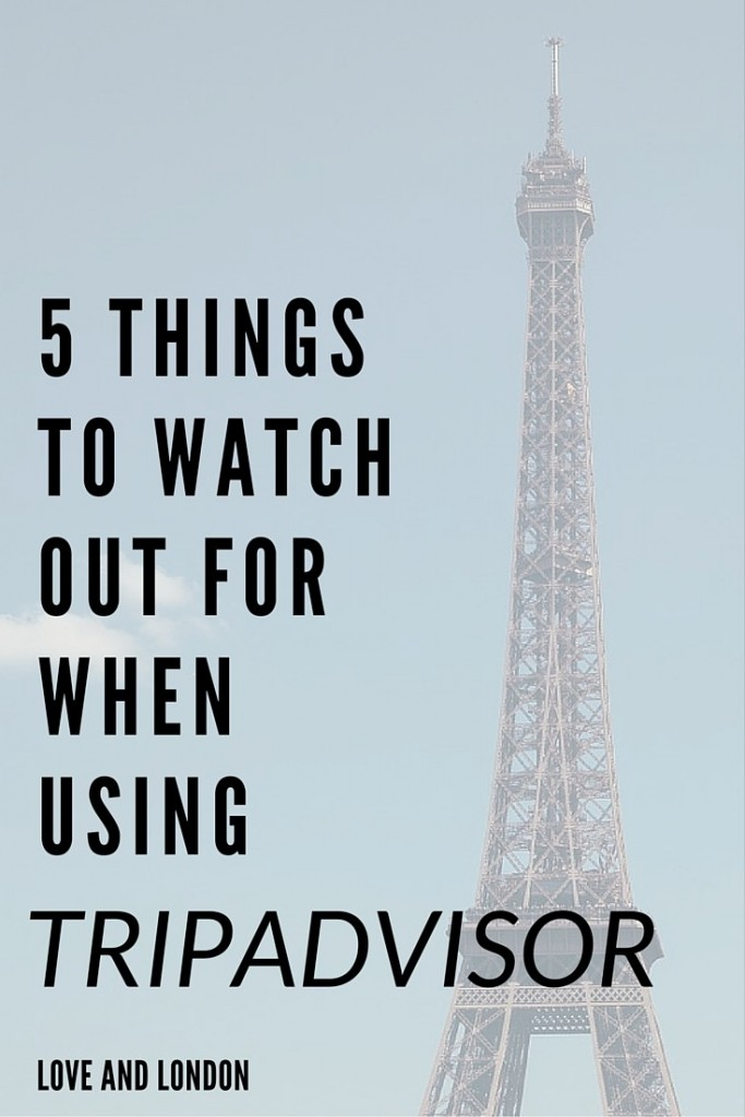 What to watch out for when using Tripadvisor - what to look out for when you're checking TripAdvisor reviews to pick a hotel, restaurant or activity while traveling.