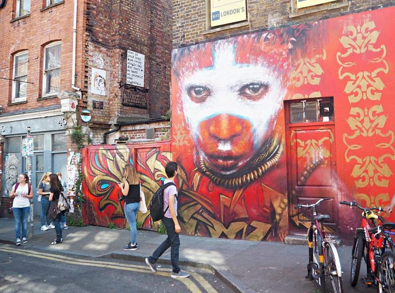 Where to stay in London best neighborhoods - Shoreditch