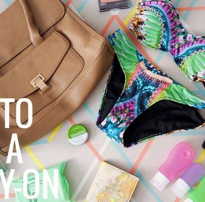 How to Pack the Perfect Carry-on Bag