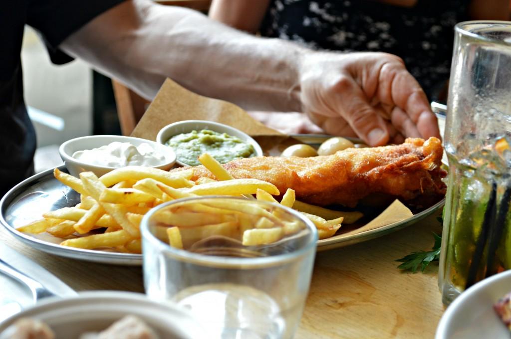 bills fish and chips