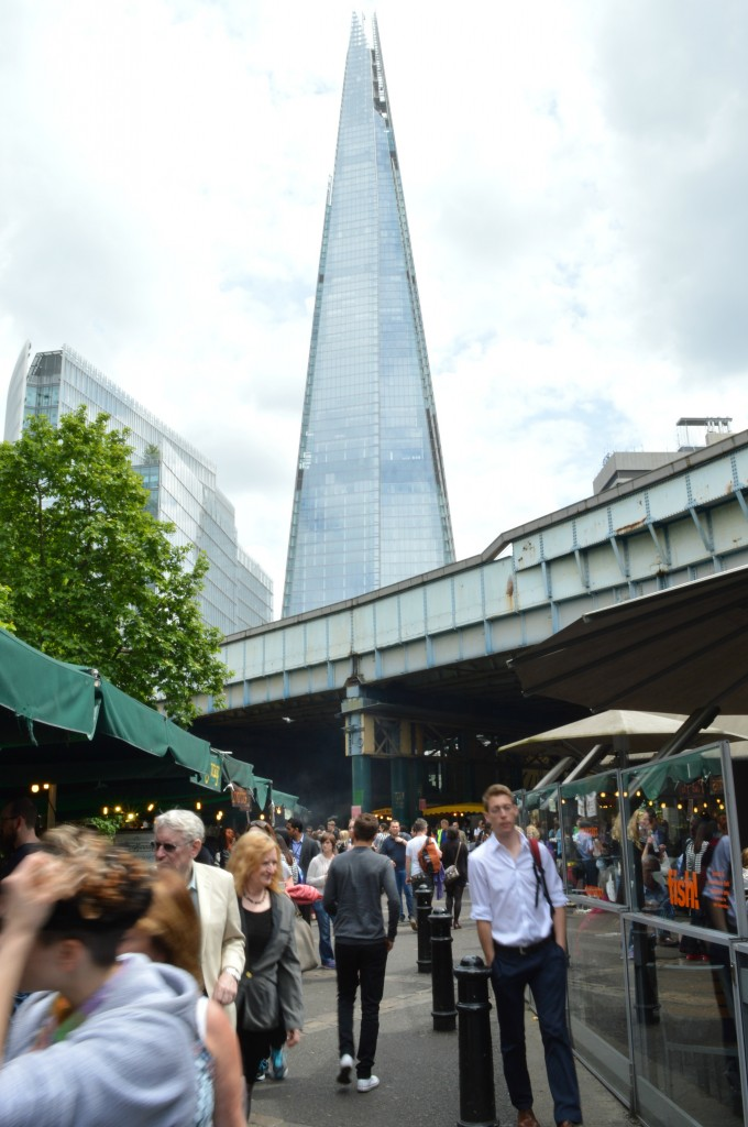 borough market the shard
