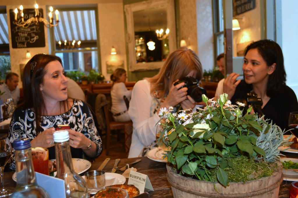bumpkin london bloggers dinner