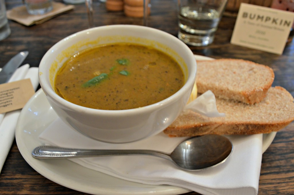bumpkin london summer menu soup