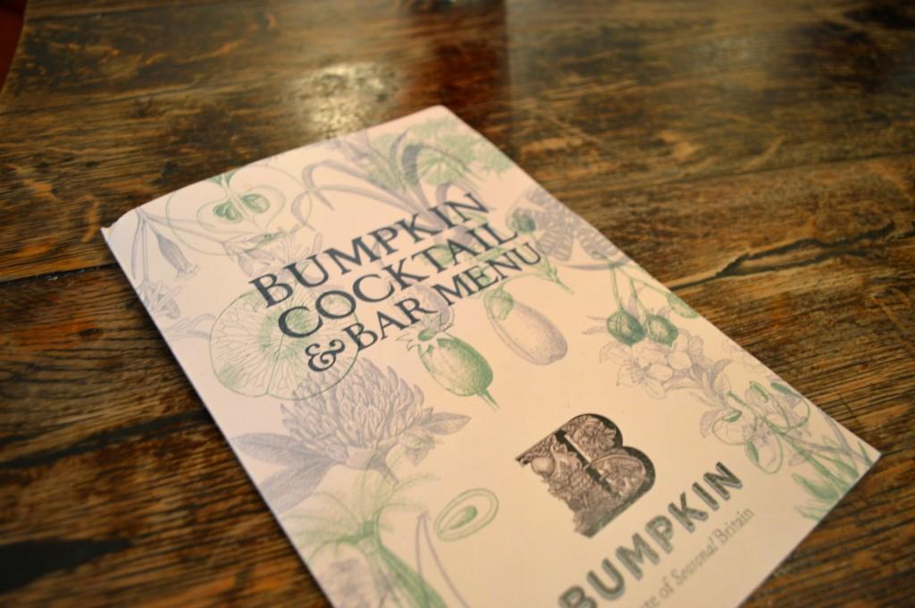 bumpkin menu