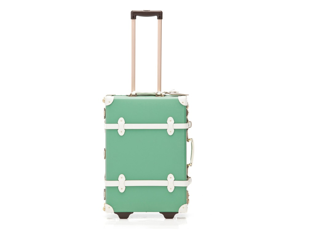 stylish carry-on luggage, chic luggage options, chic carry-on luggage