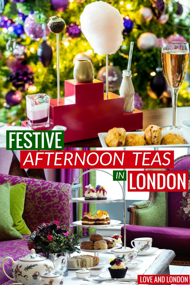 Where to get Christmas afternoon tea in London. Try these three beautiful, festive afternoon teas while visiting London.
