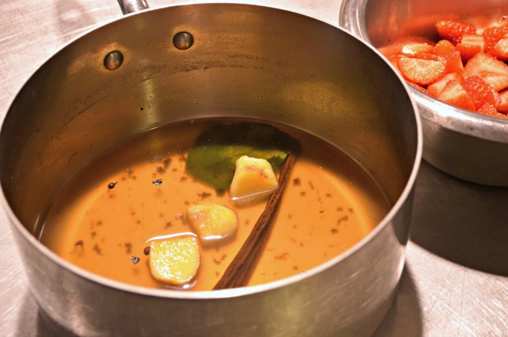 ginger dessert syprup