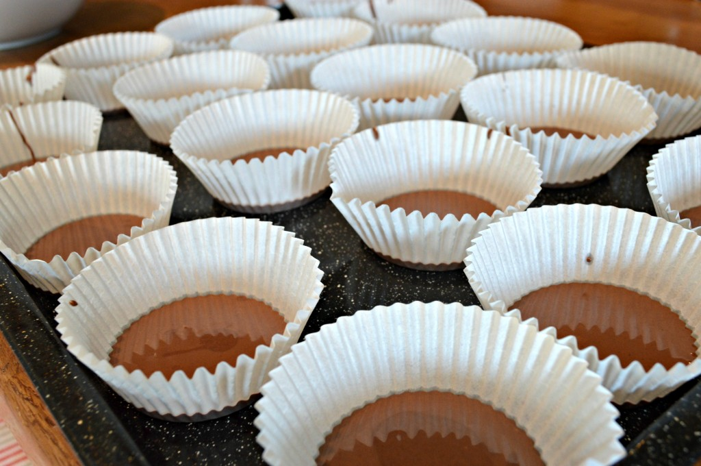 how to make reese's cups, peanut butter cup recipe