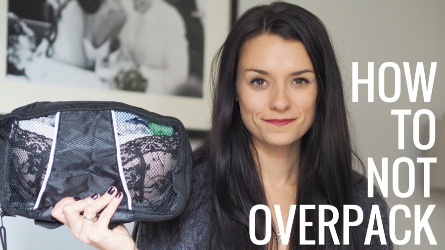 How to NOT Overpack Your Suitcase (Clothing Edition)