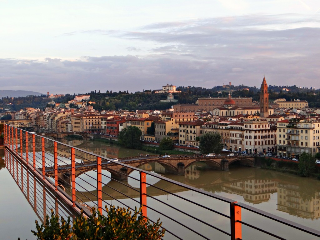 overlook florence italy